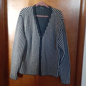 Barney's New York Men's wool/blend cardigan